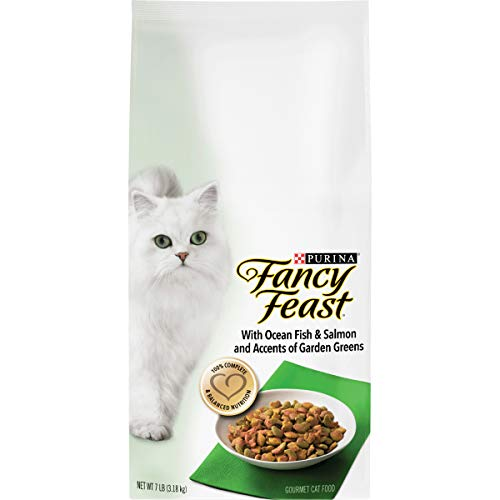 Purina Fancy Feast Dry Cat Food, With Ocean Fish & Salmon