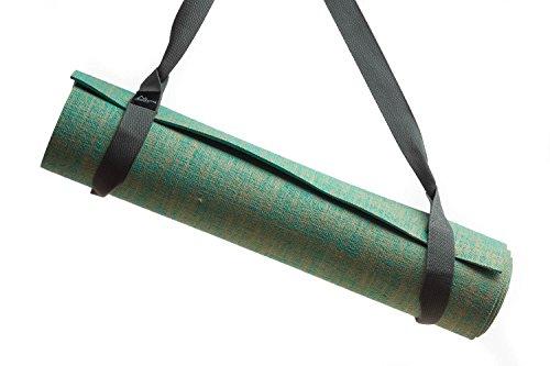 Zeller Active® Yogamatte Tragegurt Trageband - Verstellbarer Trageriemen zum Transport von Pilates und Yogamatten - Baumwoll Gurt für alle Yoga Matten Größen (ohne Matte), Farbwahl