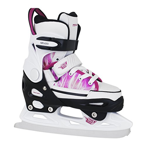 TEMPISH Damen Schlittschuhe Rebel Ice ONE PRO Girl Gr. 29-43 verstellbar, pink (33-36 verstellbar)