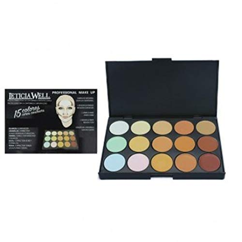 Leticia Well paleta Contouring/Correctrice