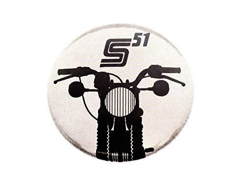"SIMSON Button, Anstecker ""S51"" Ø25 mm"