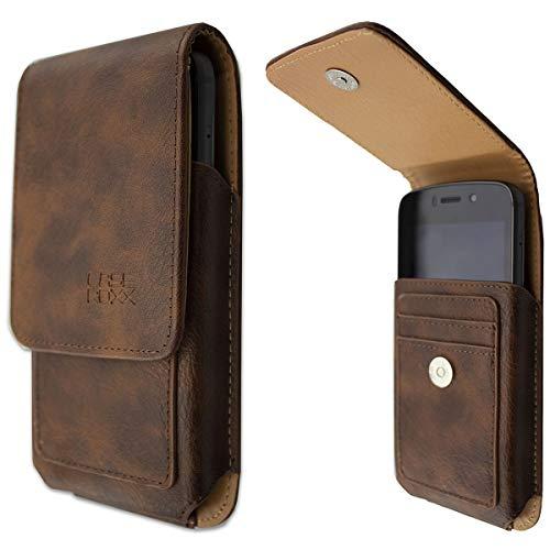 caseroxx Outdoor Tasche für Huawei Honor Magic 2, Tasche (Outdoor Tasche in braun)