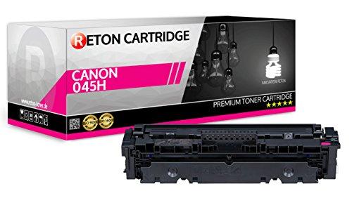 Originele Reton Toner | 25% hogere dekking | compatibel met 045HM 045 Magenta voor Canon i-Sensys LBP611CN, LBP613CDW, MF631Cn, MF633Cdw, MF635Cx
