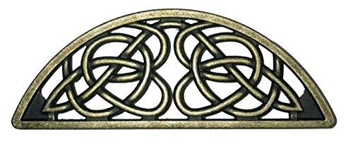 Set of 6 Timeless Celtic Knot Bin Pulls in Antique Brass