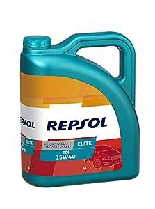 Repsol RP135Y55 Elite Tdi 15W40 15W-40 Aceite de Motor para Coche, 5 L