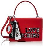 Love Moschino JC4238PP0BKG0, Bandolera para Mujer, rojo, Normale