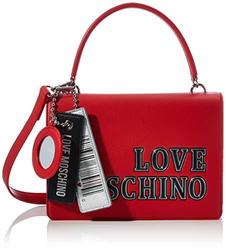 Love Moschino JC4238PP0BKG0, Borsa A Spalla Donna, Rosso, Normale