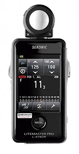 Sekonic SK011765 - Fotómetro L-478DR-EL, Negro