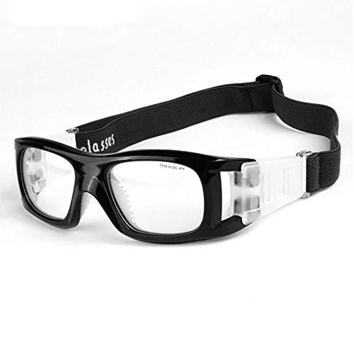 Clarashop Sportbrillen für Herren und Damen PC Schützend Anti-Impact Sport Basketball Fußball Eyewear Brillen Fußball-Schutzbrillen Shockproof