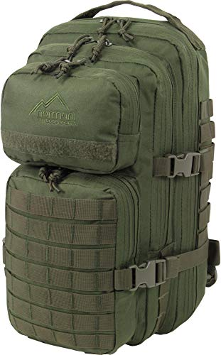 normani US Assault Pack Small, Rucksack, 25 Liter Farbe Oliv