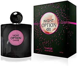 NIGHT OPTION by Chatler - Mujer - EDT 75ml - Fragance made in France