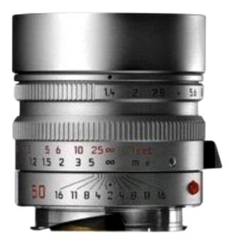 Leica 50 mm/F 1,4 SUMMILUX-M ASPH. Objektiv (Leica M-Anschluss)