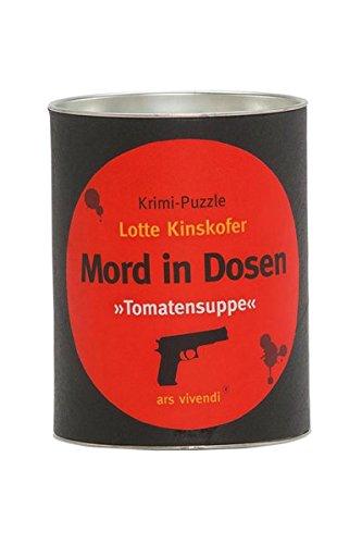 Mord in Dosen Kinskofer »Tomatensuppe«: Krimi-Puzzle
