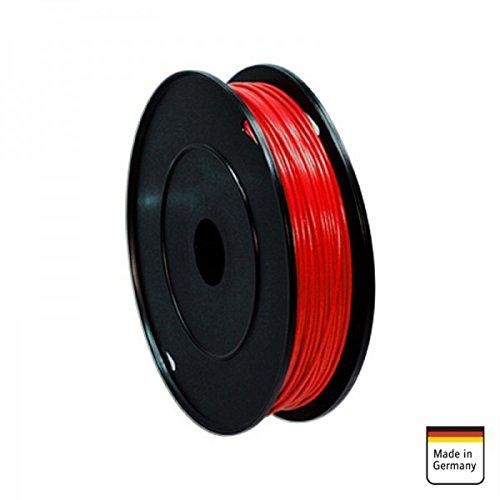 AMPIRE Installationskabel rot 1mm², 120m Rolle, Kupfer