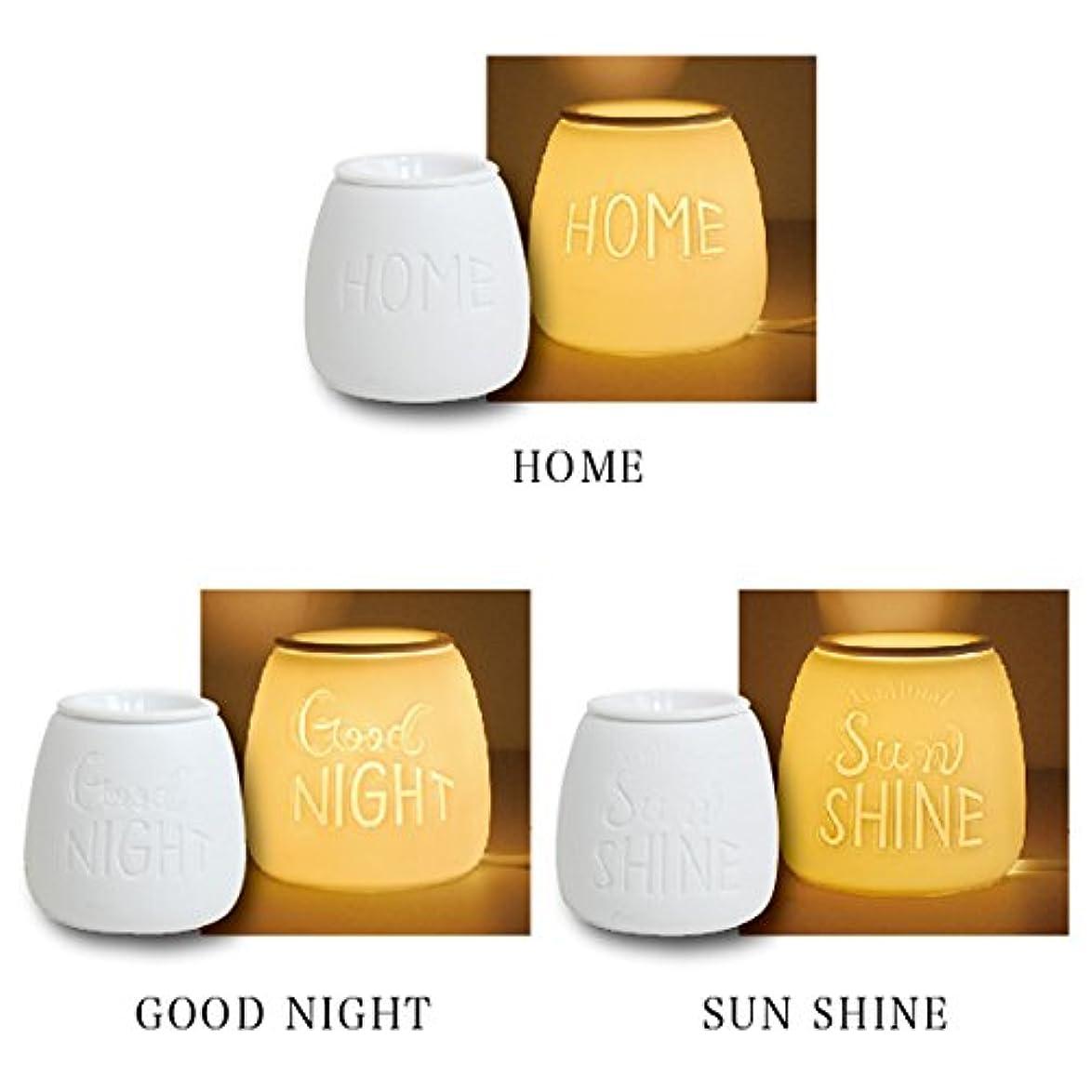 支配的染色奴隷レタリング アロマライト コード式 アロマランプ  タイマー 調光 機能付 (GOOD NIGHT)