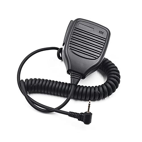 LakerBig Micrófono de Altavoz de 2.5 mm PTT Mic FIT FOR Motorola TALKABOUT Radio WALKIE Talkie TLKR T5 T7 T80 T60 MH230R XTR446 MB140R