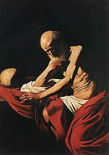 Singing Palette 9 Dipinti Famosi - €40-€1500 Pittura a Olio a Mano da pittori accademici - St Jerome Caravaggio Apostles -...