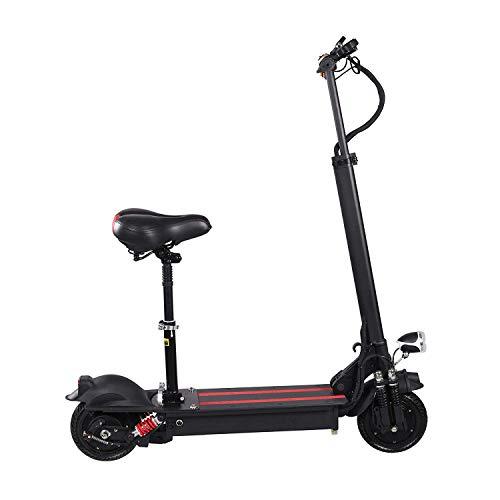 LYF Big Wheel Scooter eléctrico – Mini scooter plegable para niños y adultos, 40 km para una carga, velocidad máxima 25 km/h