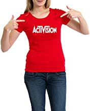 Activision T-Shirt For Women, Red
