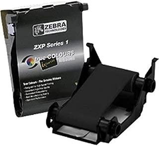 Zebra Monochrome Ribbon Zxp Series 1 Black 1000 imag