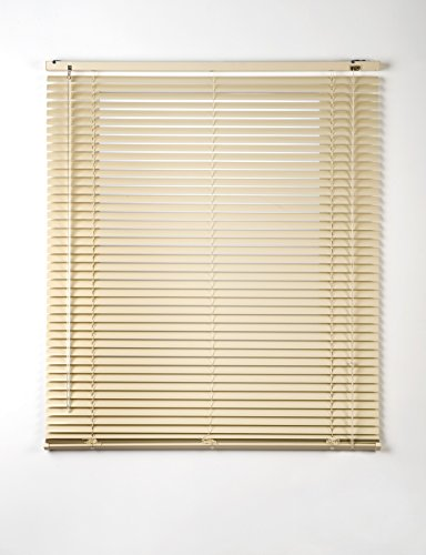 Estores Basic- Persiana Veneciana Aluminio, Beige, 75x175 cm