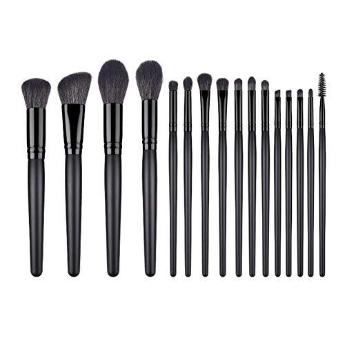MSYOU 16PCS Pinceau de maquillage professionnel mis en beauté des outils de beauté pour toute concentration de produits cosmétiques