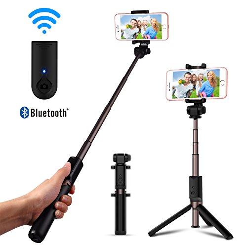 Wired selfie stick allungabile Holder–Luxsure Phone monopiede telescopico portatile senza app & Bluetooth per iPhone 7/6s/6/6Plus e Samsung Galaxy S7/S6/EDGE