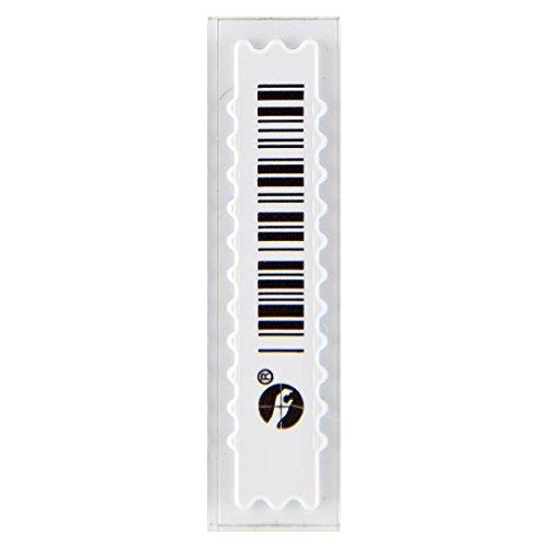 Sensormatic/Tyco Marca UltraStrip III, ZLDRSING1, código de barras falso, 1 caja de 5 K