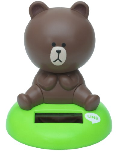 LINE CHARACTER Brown family Nohohon (japan import)