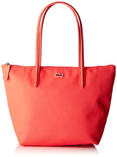 Lacoste - Nf2037po, Shoppers y bolsos de hombro Mujer, Rosa (Coral), 14.5x24.5x24.5 cm (W x H L)