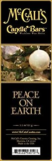 McCall's Candle Bars - Peace on Earth (2 Pack - 11oz Total)