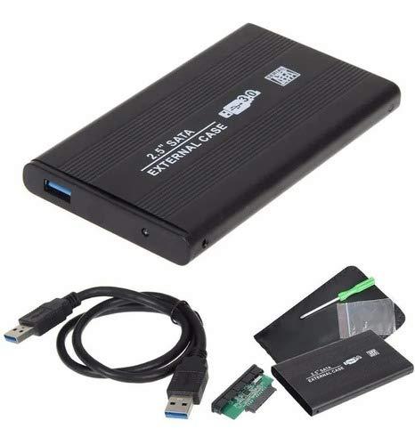 """Case para HD Externo 2.5"""" Sata I/II/III USB 3.0"""
