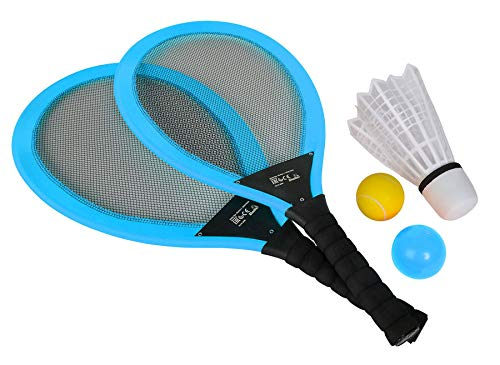 Ideal Trend Simba Giant Badminton Set Riesen Badmintonschläger 2 Schläger Spielzeug Outdoor