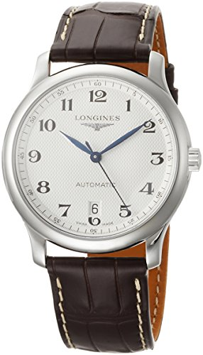 Longines Reloj Analógico para Hombre de Automático con Correa en Cuero L26284783