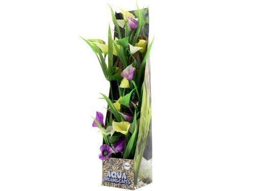 Cheeko Advertenties Bloeiende Orchidee Gras Plastic Plant, 30 cm