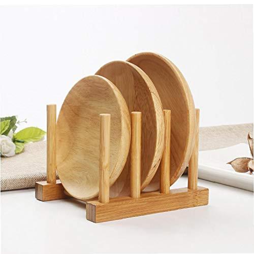 sin Marco de bambú estantería de Almacenamiento de palets