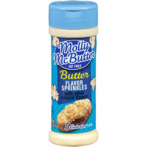 Molly McButter Fat Free Sprinkles, 2 Ounce (Pack of 12)