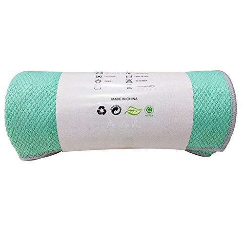 DUKUE Toalla de Yoga Antideslizante de Secado rápido Manta de Pilates Absorbente Ultra Suave y Ligera Manta de Fitness al Aire Libre 186X65Cm