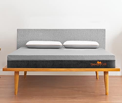 SleepyCat Natural Cooling Organic Latex Mattress, Single Bed Size, Medium Firm (75x36x7 Inches)