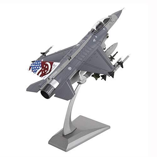 Gn shop Maqueta Avión - F-16 De Combate Americano 1:72 Militar Modelo Aleación Gift Set