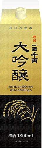 秋田県醗酵 『一滴千両 大吟醸』