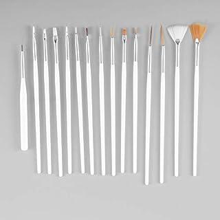 QiKun-Home 15 stks cosmetische nail art polish schilderen tekenen pen borstel tips gereedschap set uv gel diy decoratie sc...