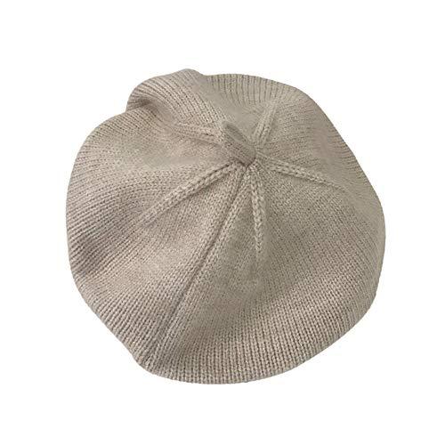 Gyratedream Mode Baby Kinder Mädchen Baskenmütze Hut Kleinkind Woll Weiche Winter Warme Plain Cap 2-5 Jahre (Einheitsgröße, D#)