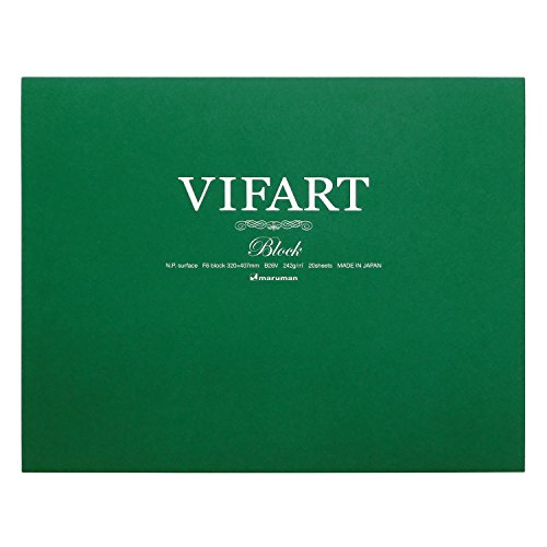 Vu~ifuaru watercolor paper block of 20 pieces of eye F6 (japan import)