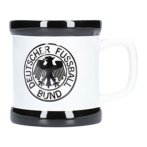 DFB Deutschland Retro Tasse Weiss Schwarz