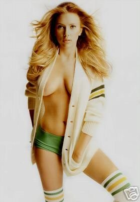 Scarlett Johansson Sexy Celebrity Limited Print Photo Poster 8x10 #1