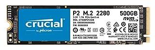 Crucial P2 500GB 3D NAND NVMe PCIe M.2 SSD Up to 2400MB/s - CT500P2SSD8 (B086BGWNY8) | Amazon price tracker / tracking, Amazon price history charts, Amazon price watches, Amazon price drop alerts