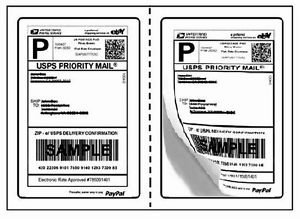 1000 round corner shipping labels - 7