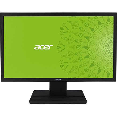 Acer V246HL 2434; LED LCD Monitor - 16:9 - 5 ms - Adjustable Display Angle - 1920 x 1080 - 16.7 Million Colors - 250 Nit - Full HD - Speakers - DVI - HDMI - VGA - 20.90 W - Black - EPEAT Gold, TCO Certified Displays 6.0 - UM.FV6AA.005