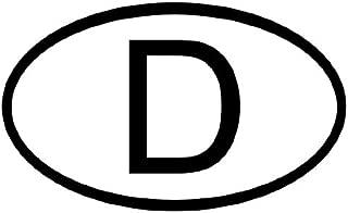 german d sticker